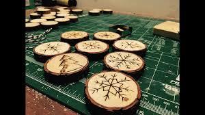 DIY/ wooden Christmas decorations