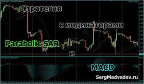 Стратегия с индикаторами adx и parabolic sar