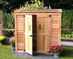 wood storage sheds plans