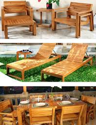 outdoor wood furniture by maku the