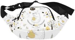 <b>Cute Bear</b> Eating Sweet Honey Fenny Packs Waist Bags Adjustable ...