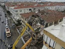 quake damage ...