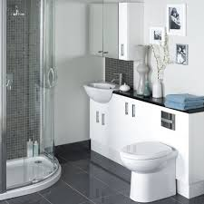 White Bathroom Suite Bathroom Interior Ideas Bathroom Bathroom Suites Space Saver