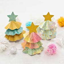 Diy Paper Tree Ornaments With Template Hello Wonderful