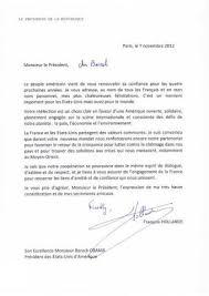 Elections Us Francois Hollande Ecrit Une Lettre A Barack Obama
