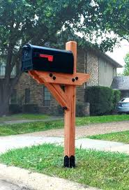 wooden mailbox designs. Wooden Mailbox Post Wood Designs Appealing Posts Perfect With Best Ideas On .