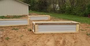 diy raised garden beds with s wood