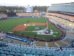 Dodger Stadium Seating Chart Infield Reserve Los Angeles Dodgers Seating Chart Map Seatgeek