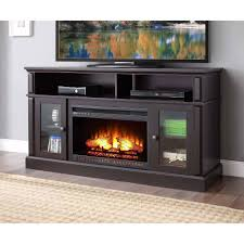 fireplace tv cabinet whalen barston media for tv s up to 70 multiple finishes