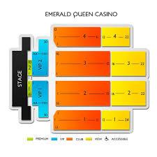 Emerald Queen Casino 2019 Seating Chart