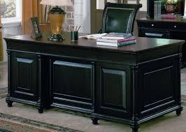 black office table. Chic Black Executive Office Desk Desks Clearance Martin Oak Designer Wooden Table