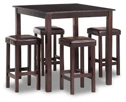 payton 5 pc counter height dining room set on
