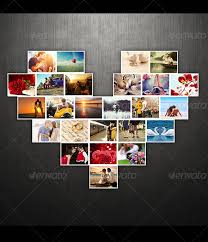 Template For Picture Collage Amazing Collage Templates In Photoshop Entheosweb