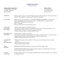 Functional Resume Template Functional Resume Template Sample Of A