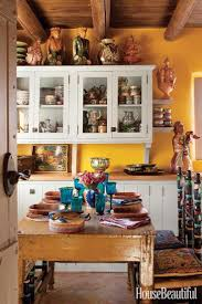 ideas southwest kitchen pinterest mexican maybe i should paint my cabinets white to go with the terra cotta wall