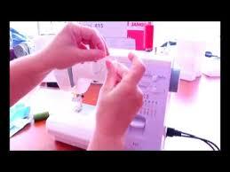 <b>Швейная машина Janome 415 (5515</b>) - YouTube