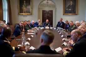 Obama And Cabinet Filebarack Obama Meets Combatant Commanders In The Cabinet Room