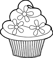 Pretty Cakes Successful Coloring Page Free Printable Cupcake Pages