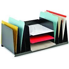 Desk Organizer Amazoncom Steelmaster Steel Combination Desk Organizer Letter