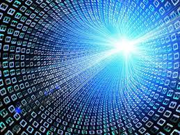 Binary Data Stream Background Stock Photo Mmaxer 66205615