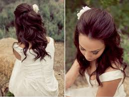 Half Up Half Down Wedding Hairstyles Plan A Wedding Now