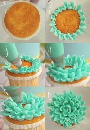cool cupcake designs with icing. Unique Cupcake How To Frost A Cute Floral Cupcake That Is So Cute Only Question In Cool Cupcake Designs With Icing C