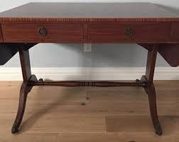 vintage sofa table. Antique Mahogany Desk/Sofa Table Vintage Sofa