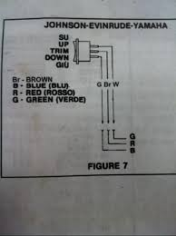evinrude power tilt trim wiring diagram evinrude 1982 evinrude 75hp tilt trim wiring help page 1 iboats on evinrude power tilt trim wiring