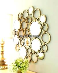 metal mirror wall decor mirrored leaves wall art metal mirror wall decor new gold ring circles metal mirror wall decor