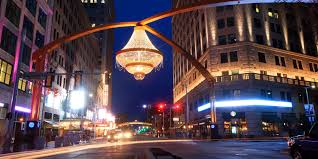 marvel at the world s largest outdoor chandelier