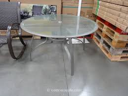 photo 8 of 8 the kirkland signature 50 inch patio table is a seasonal item that costco round tables
