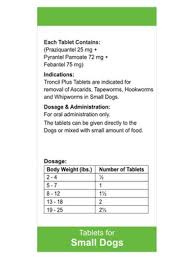Drontal Feline Dosage Chart Pet Shed Pet Supplies At Discount Prices