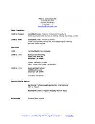 College Graduate Sample Resume Sample Students Resume Resume Free