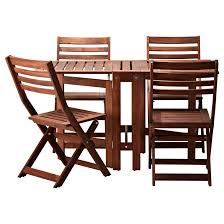 ikea patio table luxury a pplara and folding chairs outdoor brown of pplara narrow foldable childrens plastic chair set catering tables wooden garden steel