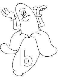 Small Picture Letter B Coloring Pages Preschool and Kindergarten