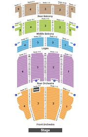 Akron Civic Theatre Seating Chart Akron