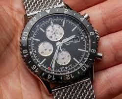 High Swiss Replica Wathces - Steel Breitling Case Watch Chronoliner Quality Online Rolex