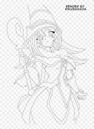 Coloring pages are fun for children of all ages and are a great educational tool that helps children develop fine motor skills, creativity and color recognition! Dark Magician Girl Lineart Dark Magician Girl Coloring Pages Clipart 1348158 Pikpng