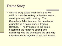 Frame Narrative Literary Definition And Example Damnxgood Com