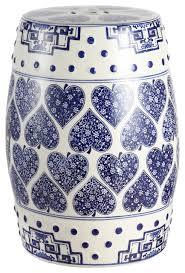 happy hearts 17 8 ceramic drum garden