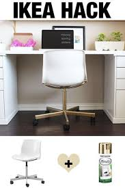 white chairs ikea office chairs set. ikea hack make the 20 snille chair look like an expensive office white chairs ikea set m