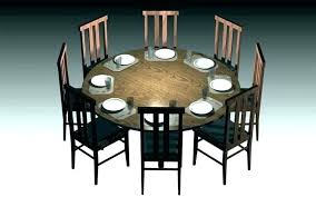 6 person round table 8 person round dining table 8 person round table clever elegant round