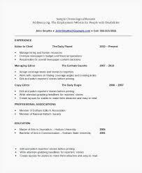 Chronological Order Resume Noxdefense Resume Chronological Format