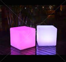 led cube furniture remote controlled light up 16 inch cube outdoor led light cube led modern furniture cube seat cube table 1 yolo party supplies