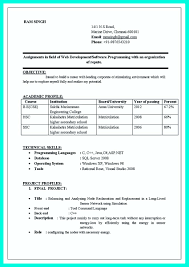 Resume Format For Freshers Computer Science Engineers Free Download awesome Computer Programmer Resume Examples to Impress Employers 2