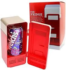 Mini USB Desktop Fridge Cooler Refrigerator ... - Amazon.com