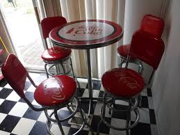 coca cola bistro table stools