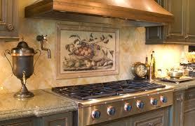 kitchen tile backsplash mural picture