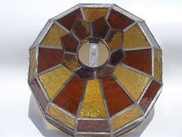 leaded glas stained glass ceiling light shades on home depot ceiling fans with lights