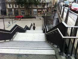 Eine treppe ist nicht gleich eine treppe. Treppentote Weiter Ansteigend Nullbarriere